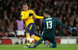 David Ospina & Antoine Griezmann  Arsenal - Atlético Madrid Europa League