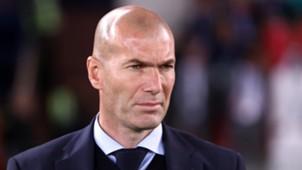 Zinedine Zidane Real Madrid Al Jazira Club World Cup 13122017