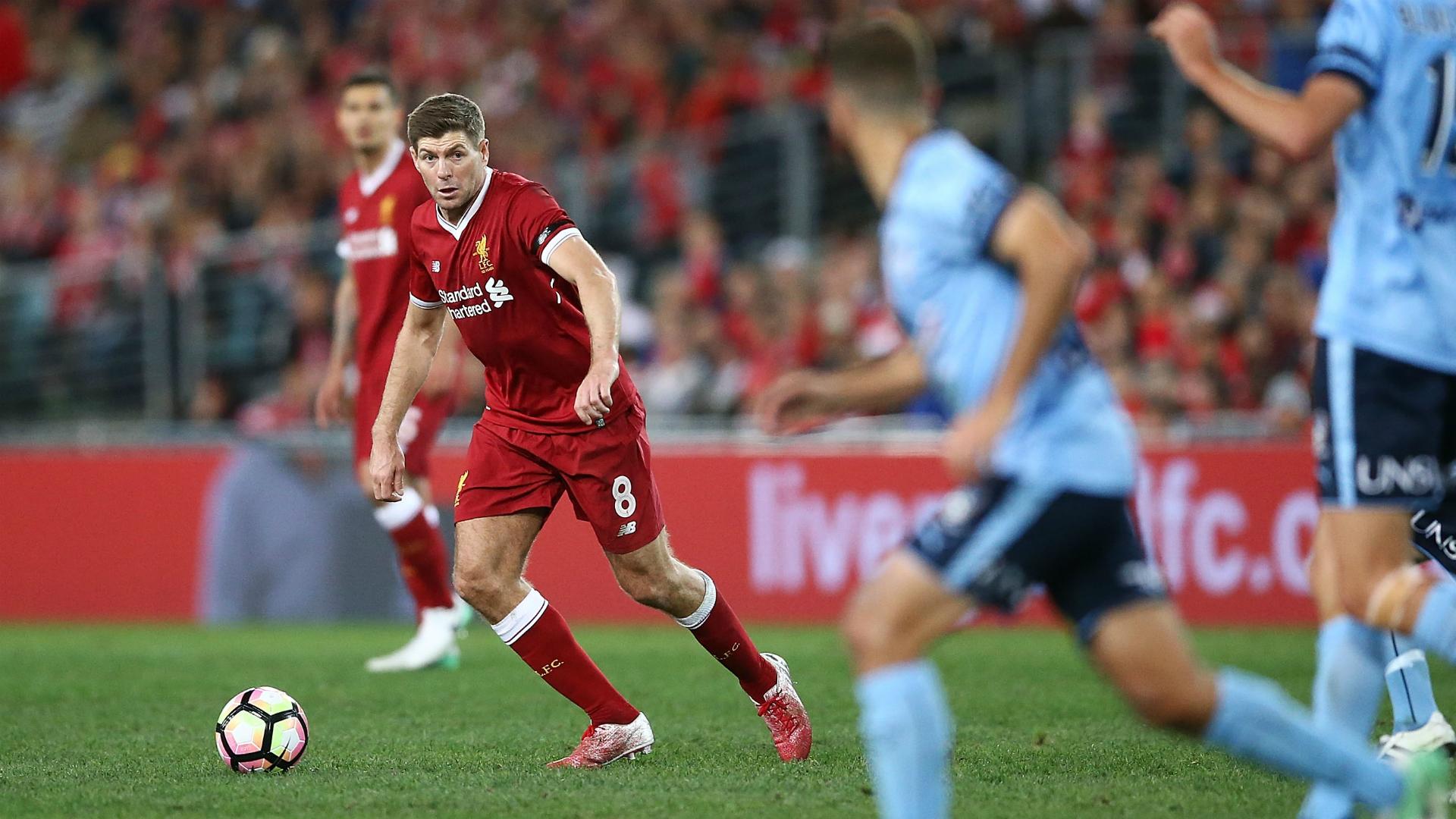 Steven Gerrard Sydney FC v Liverpool Friendly 24052017