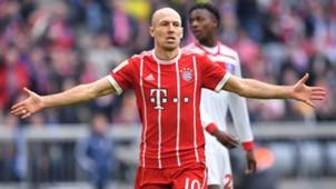 Arjen Robben FC Bayern 10032018
