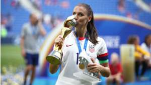 Alex Morgan twerks in locker room as USWNT wildly celebrates World Cup victory
