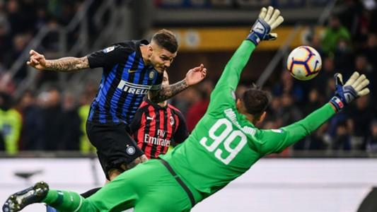 Icardi Donnarumma Inter Milan