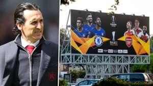 Unai Emery Arsenal Baku 2019