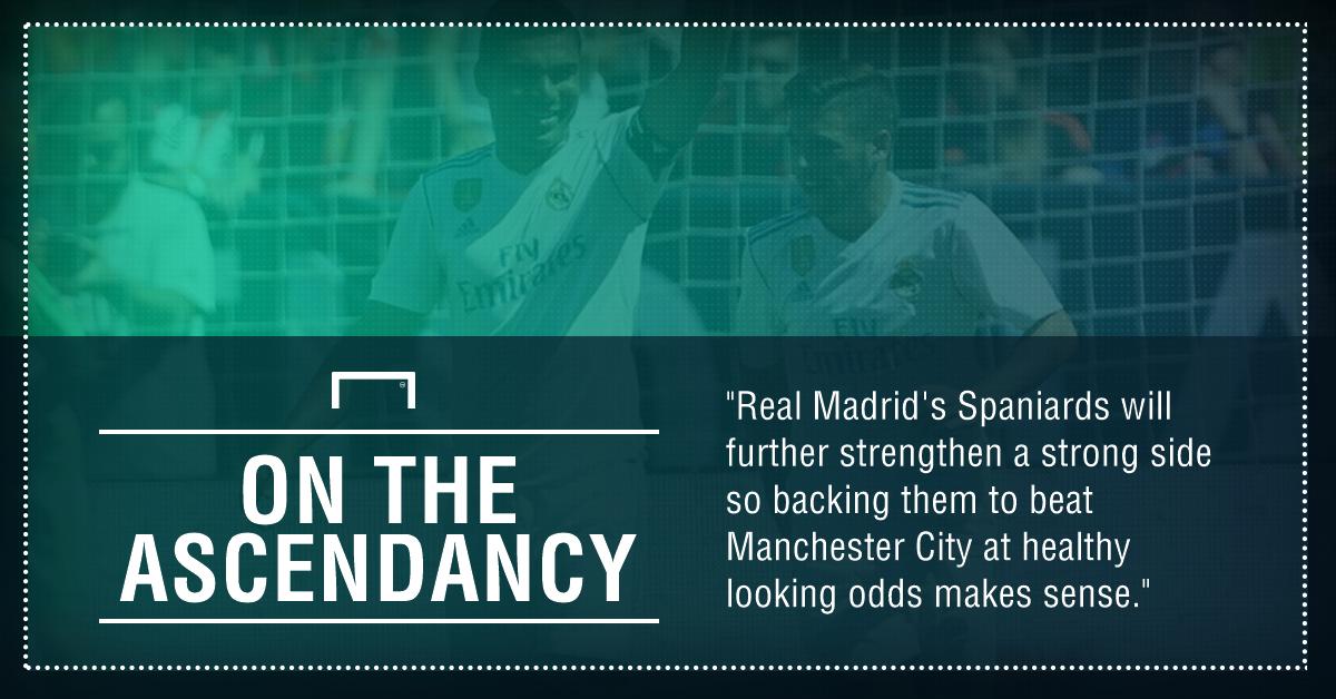 GFX Man Utd Real Madrid betting