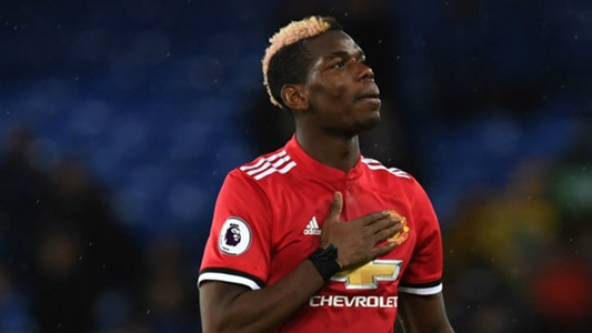 Paul Pogba, Everton vs Manchester United, 17/18