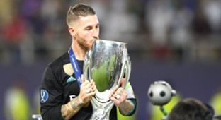 Sergio Ramos Real Madrid Manchester United UEFA Super Cup