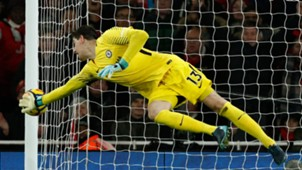 Thibaut Courtois Chelsea Arsenal