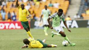Tiyani Mabunda, Ahmed Musa- South Africa vs. Nigeria