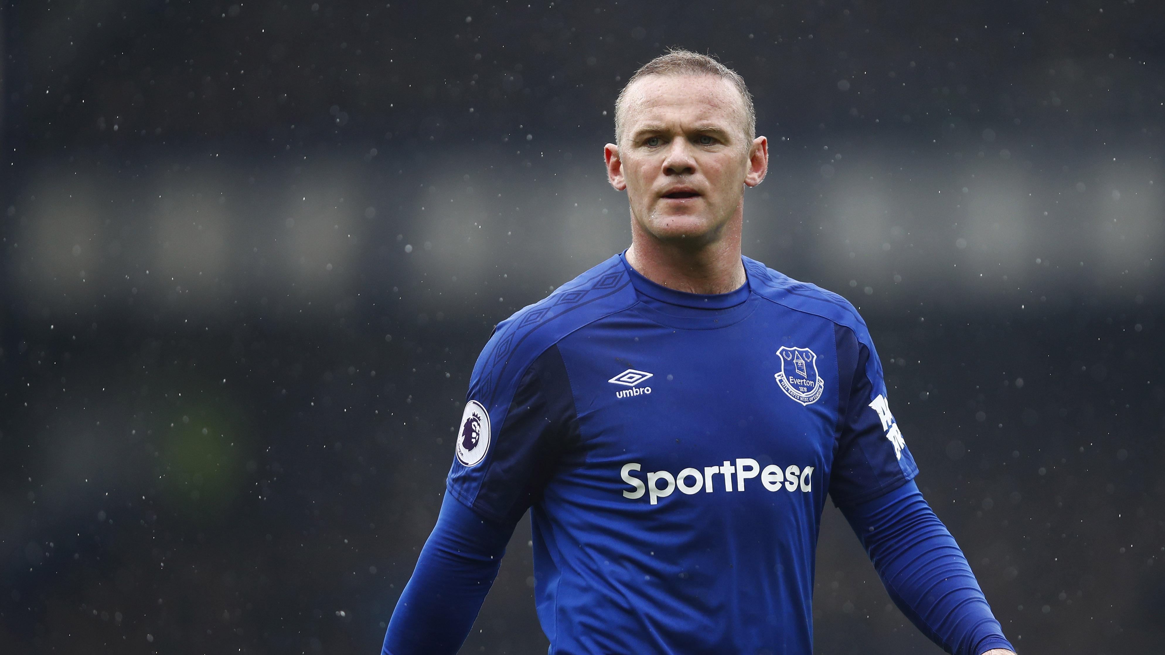 Wayne Rooney Everton Premier League