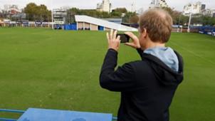 Jurgen Klinsmann Boca entrenamiento 15052017