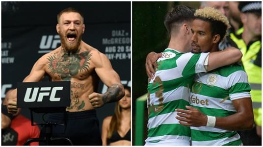 Conor McGregor Scott Sinclair Celtic Astana
