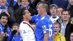 John Terry Carlos Tevez Chelsea Manchester City Premier League