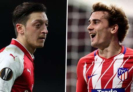 EL-Kracher: Arsenal trifft auf Atletico Madrid