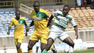 GEORGE OWINO of Mathare and NAMANDA LUKE of Nzoia Sugar.