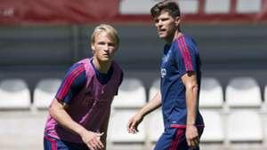 Kasper Dolberg, Klaas-Jan Huntelaar, Ajax, 07052017