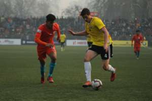Mason Robertson Real Kashmir Indian Arrows I-League 2018-19