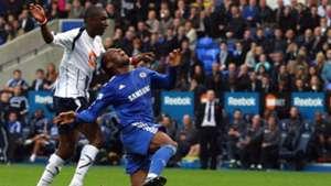 Didier Drogba Chelsea foul
