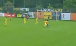 310518 Lorenzo Reyes Goal Chile Rumania