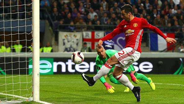 Mkhitaryan RSC Anderlecht v Manchester United - UEFA Europa League Quarter Final: First Leg 13042017