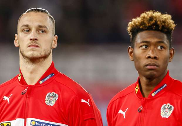 Austria duo Alaba, Arnautovic wish World Cup-bound Nigeria 'the best'