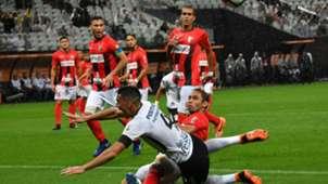 Balbuena David Mendoza Corinthians Deportivo Lara 14032018 Copa Libertadores