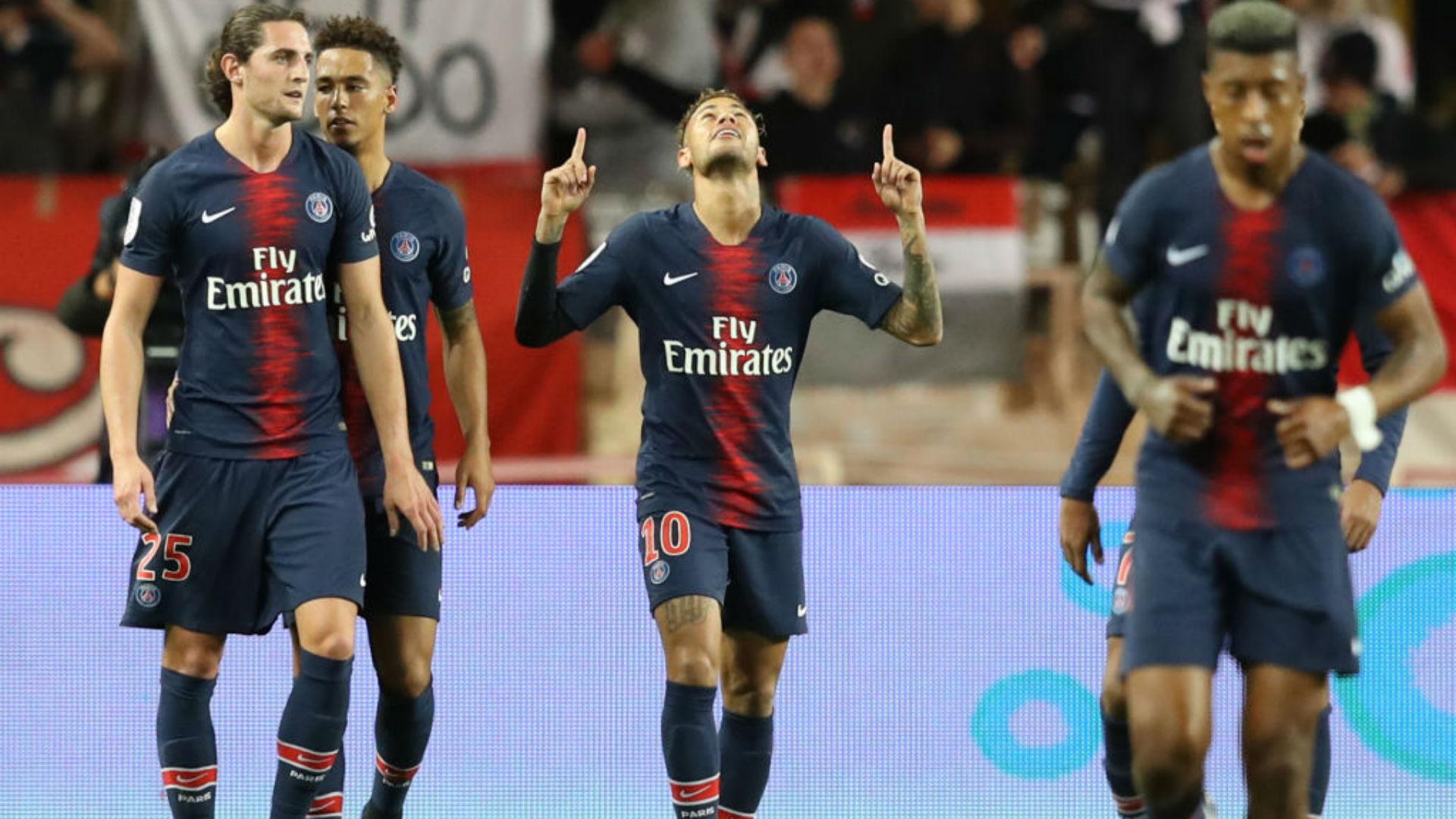 Neymar Monaco PSG Ligue 1 11112018