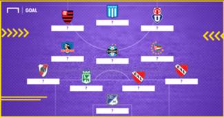 GFX XI Ideal Sub 21 Copa Libertadores 2018 Sin Nombres