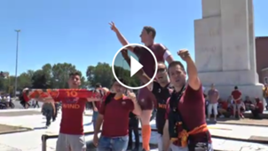 GFX Video Roma fans Totti
