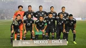 Selección mexicana México Chile 2019