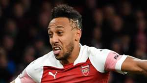 Pierre-Emerick Aubameyang Arsenal 2018-19