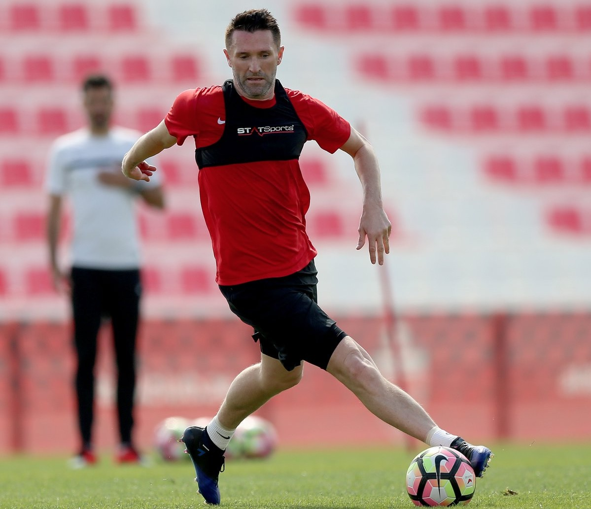 Robbie Keane - Al Ahli, UAE trainings