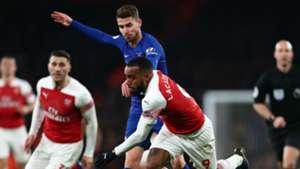 Alexandre Lacazette Jorginho Arsenal Chelsea Premier League 2019