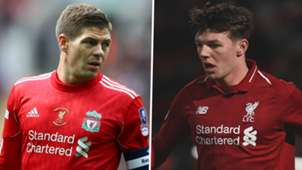 Steven Gerrard Bobby Duncan