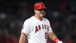 Mike Trout Los Angeles Angels