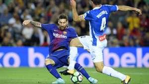 Lionel Messi Victor Sanchez Barcelona Espanyol La Liga