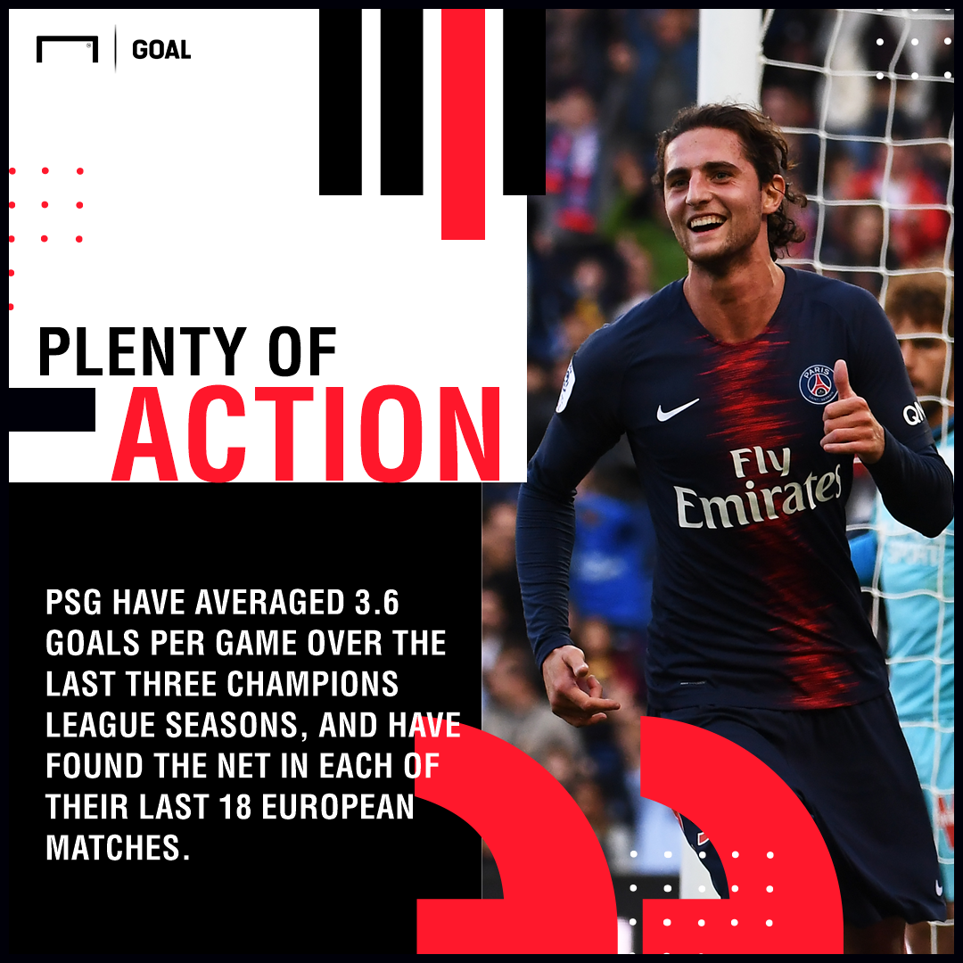 PSG Napoli graphic