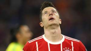 Robert Lewandowski Bayern Munchen Real Madrid Champions League 25042018
