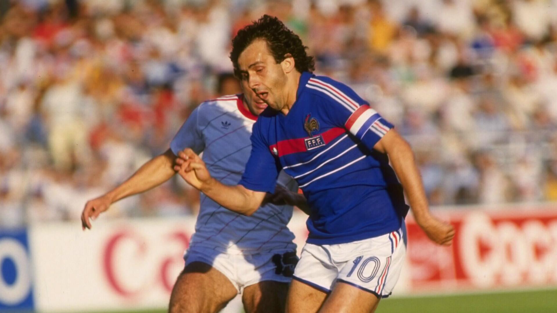 Michel Platini France 1984