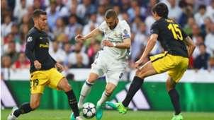 Karim Benzema Real Madrid Atletico Madrid Champions League