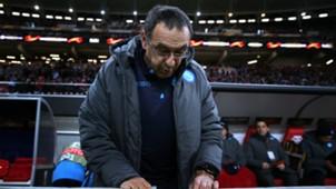 Maurizio Sarri RB Leipzig Napoli UEFA Europa League 02222018