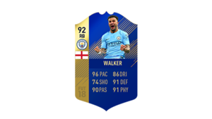 FIFA 18 Ultimate Team of the Season Walker