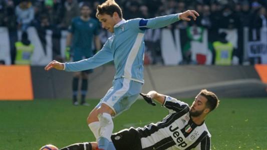 Miralem Pjanic Lucas Biglia Juventus Lazio Serie A