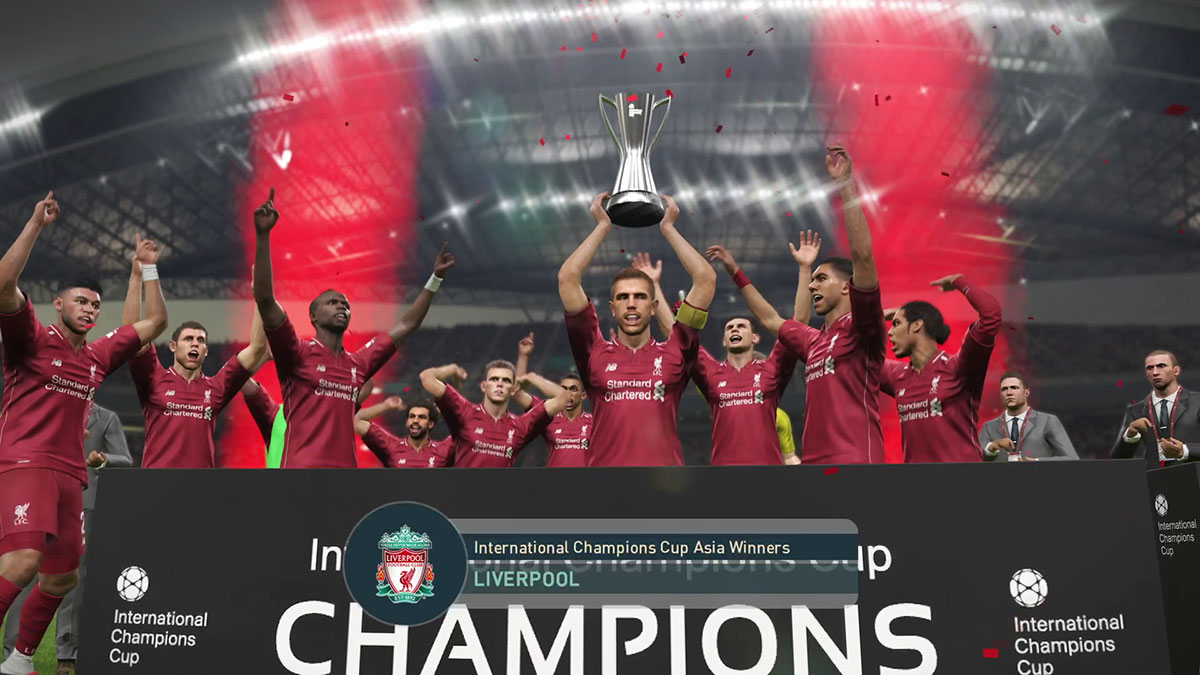 Embed only PES 2019 International Champions Cup