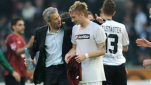 ONLY GERMANY Marco Reus Lucien Favre Borussia Monchengladbach