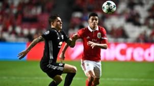 Raúl Jiménez Benfica - Manchester United