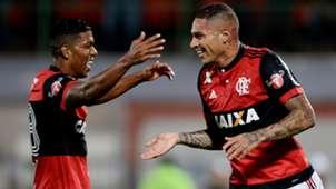 Paolo Guerrero Orlando Berrio Flamengo Chapecoense Brasileirao Serie A 22062017