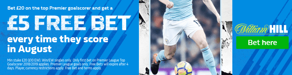 William Hill top scorer offer