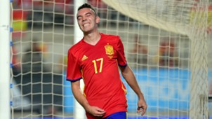 Iago Aspas Spain Colombia Friendly 07062017