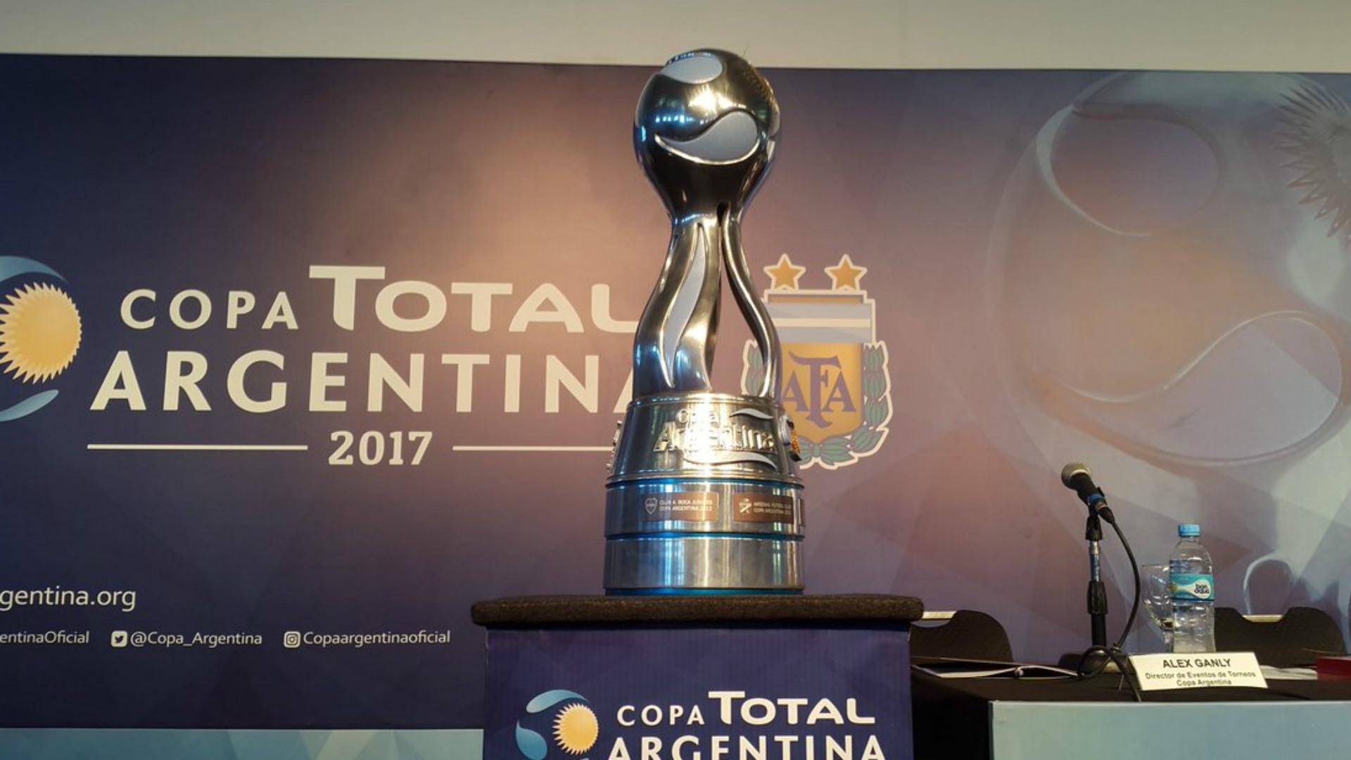 Copa Argentina 2017 trofeo