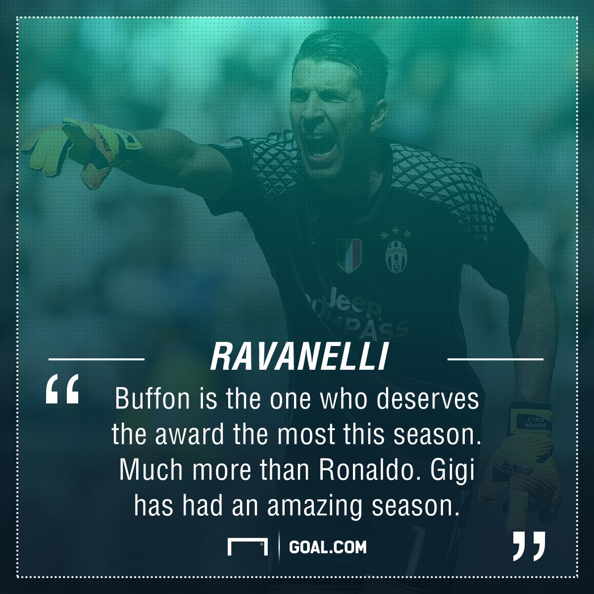 Gianluigi Buffon Fabrizio Ravanelli